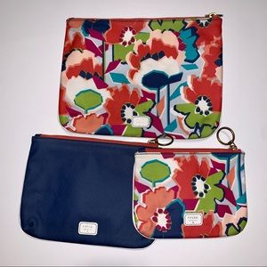 FOSSIL Cosmetic Accessory Travel Pouch Bags